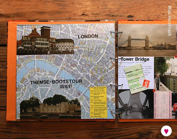 Miss Herzfrischs London Reisealbum