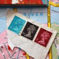 Miss Herzfrischs London Reisetagebuch Stamps