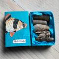 Miss Herzfrischs Matchbox Adventskalender Challenge Nr. 11 Glücksfisch Schachtel