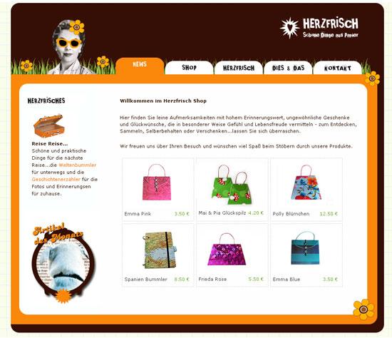 Miss Herzfrischs Shop 2007