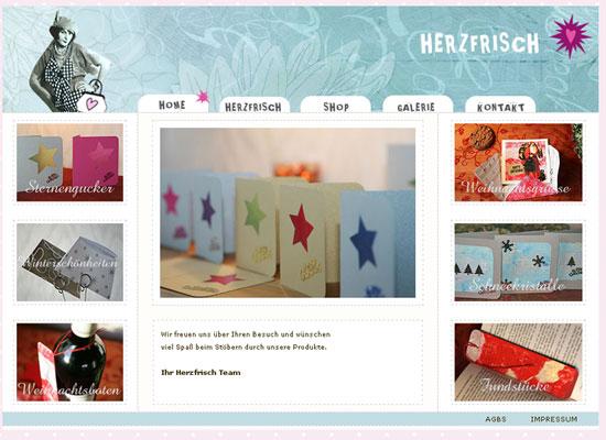 Miss Herzfrischs Shop 2009
