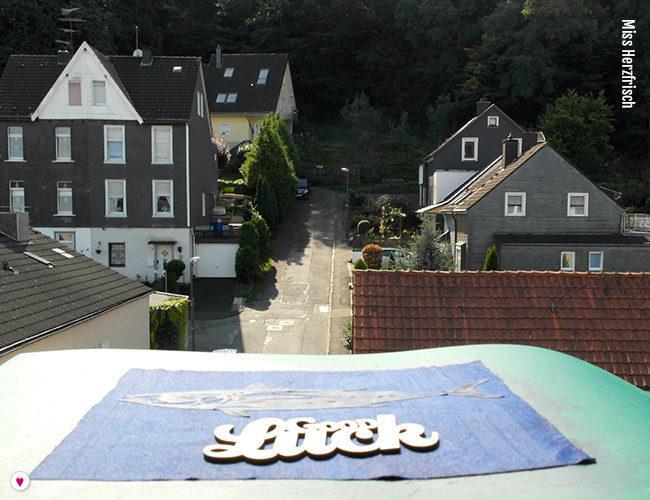 Miss Herzfrischs Sommerpost 2017 Glücksfisch - Good luck Wuppertal