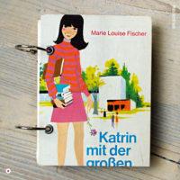Miss Herzfrischs Vergissmeinnicht Retro Notizbuch Katrin mit der grossen Klappe