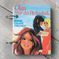 Miss Herzfrischs Retro Notizbuch Olga Star der Parkschule von Marie Louise Fischer