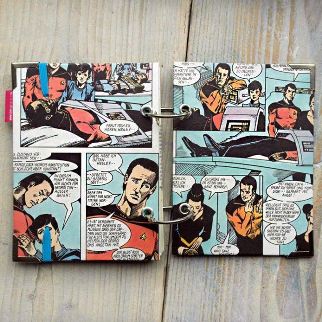 Miss Herzfrischs Star Trek Vergissmeinnicht Notizbuch