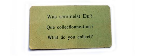 Miss Herzfrischs Freitags Frage: Was sammelst du?