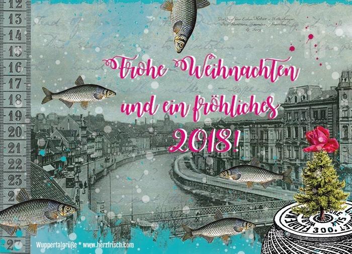 Miss Herzfrischs fröhliche Weihnachtsgrüße aus Wuppertal