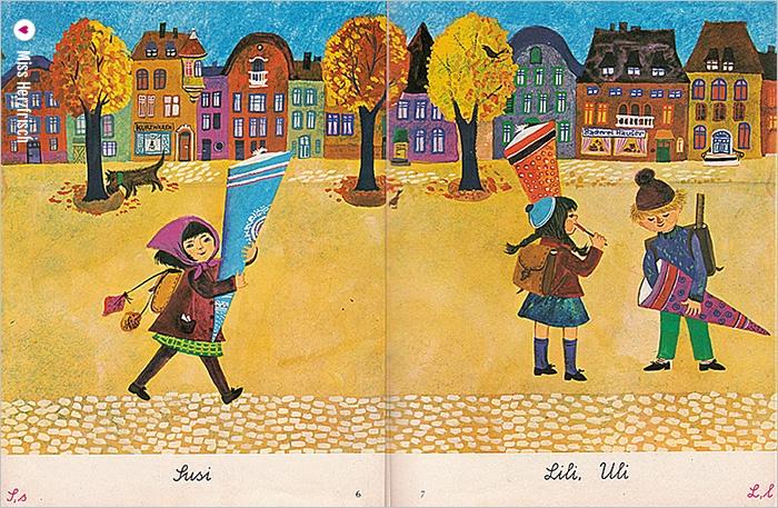 Miss Herzfrischs Lesebuch Wunderbare Welt Schulanfang