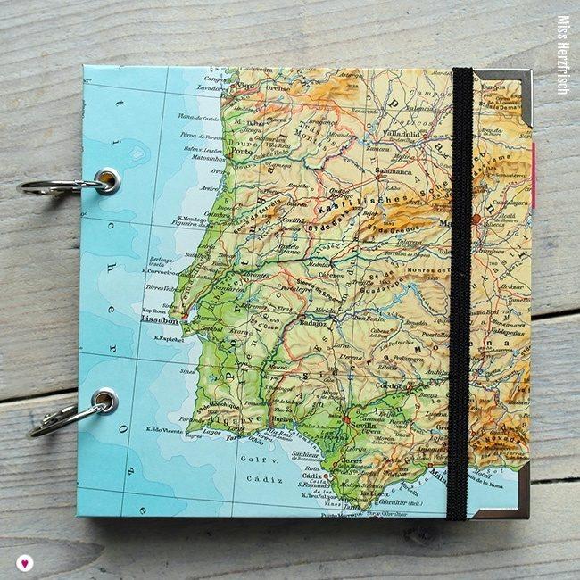 Miss Herzfrischs Wunschlandbummler Fotoalbum und Reisetagebuch Portugal