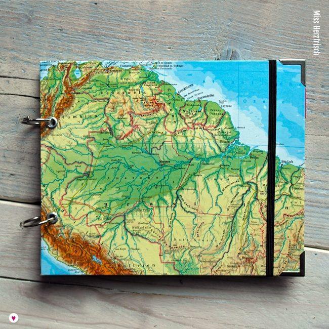 Miss Herzfrischs Wunschlandbummler Fotoalbum und Reisetagebuch Brasilien