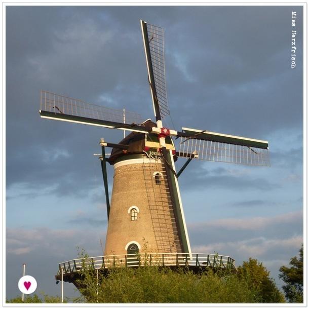 Miss Herzfrischs Zeeland Impressionen Mühle