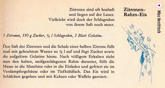 Zitronen Rahm-Eis