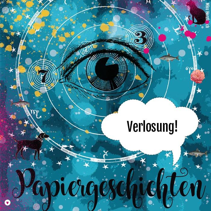 Miss Herzfrischs Papiergeschichten Kalender 2019 verlosung
