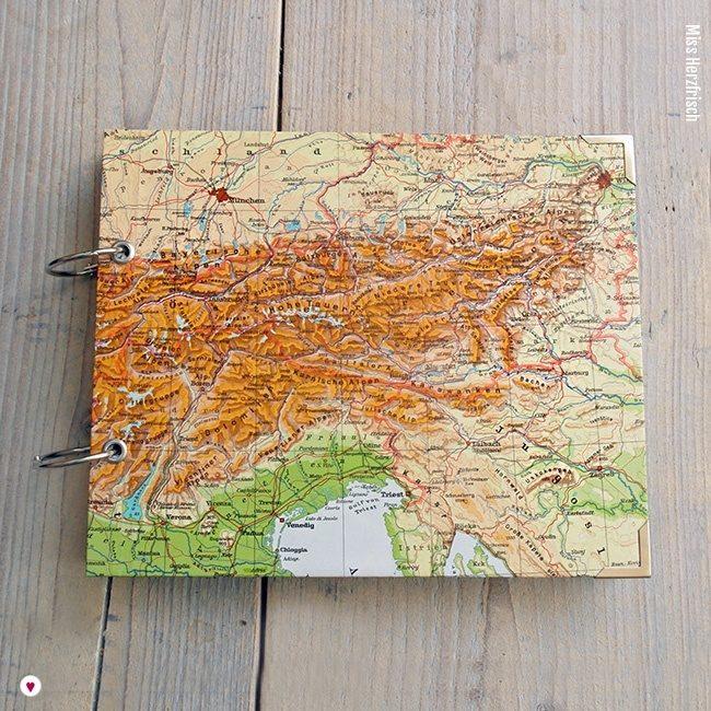 Miss Herzfrischs Wunschlandbummler Fotoalbum und Reisetagebuch Alpen