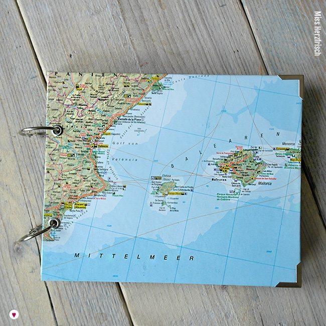 Miss Herzfrischs Wunschlandbummler Fotoalbum und Reisetagebuch Balearen